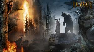 Gandalf und Beorn treffen aufeinander