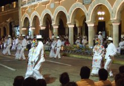 Jarana Dance on the Square