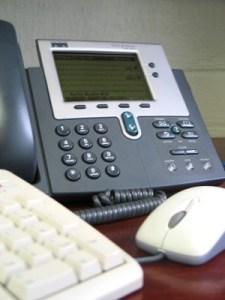 Receptionist phone