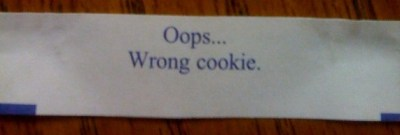 Oops... Wrong cookie.
