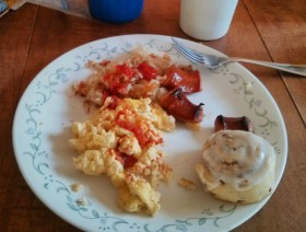 Picture of breakfast food