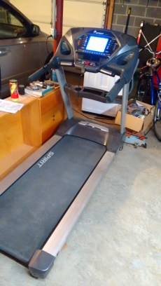 Picture of the treadmill