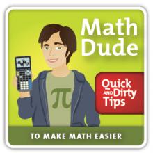 Math Dude podcast logo