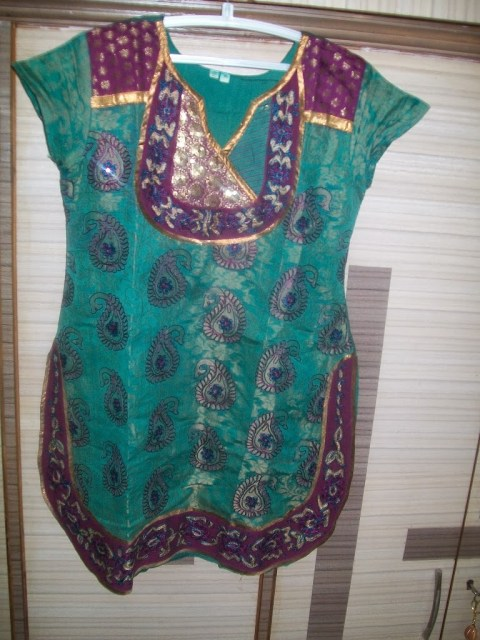 apple cut kurti stitching