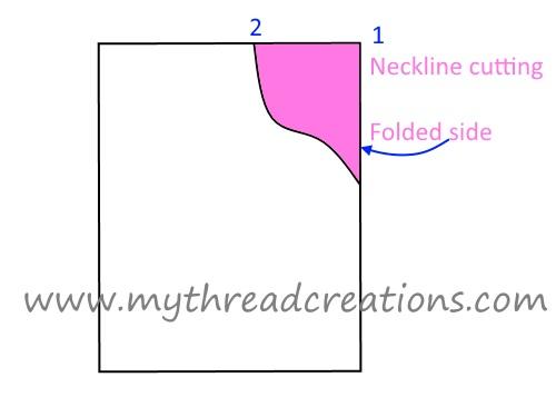 kurti neck design making