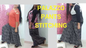 Palazzo Pants Stitching in very easy method