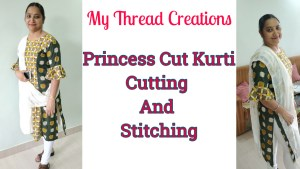 Princess Cut Kurti Designs Pattern Making