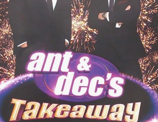 Ant & Dec Takeaway on Tour programme