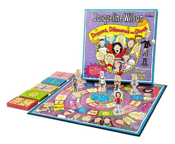 Win A Jaqueline Wilson Dreams, Dilemmas and Divas Board Game