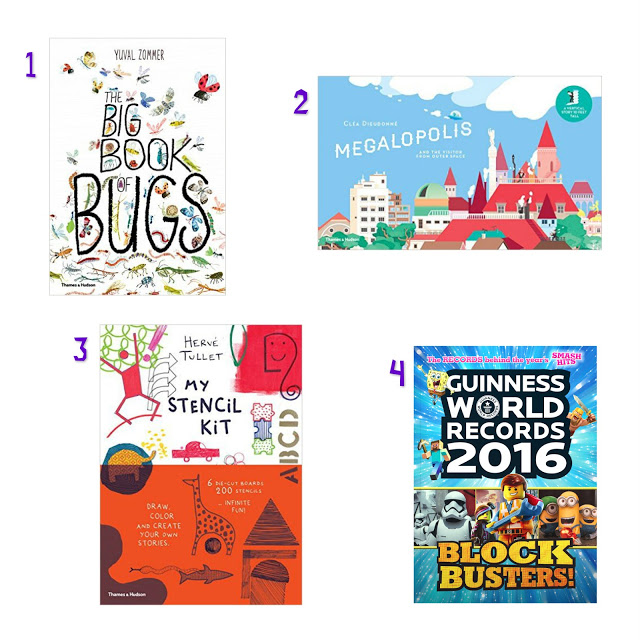 Alternative easter gifts for children my three and me gift instead of chocolate this easter 1 the big book of bugs 1295 by yuval zommer an insectopedia that is beautifully illustrated and aimed at negle Image collections