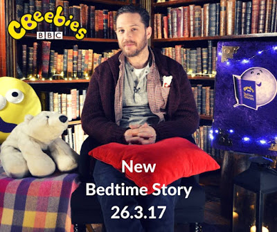 Tom Hardy Bedtime Stories for CBeebies TV show