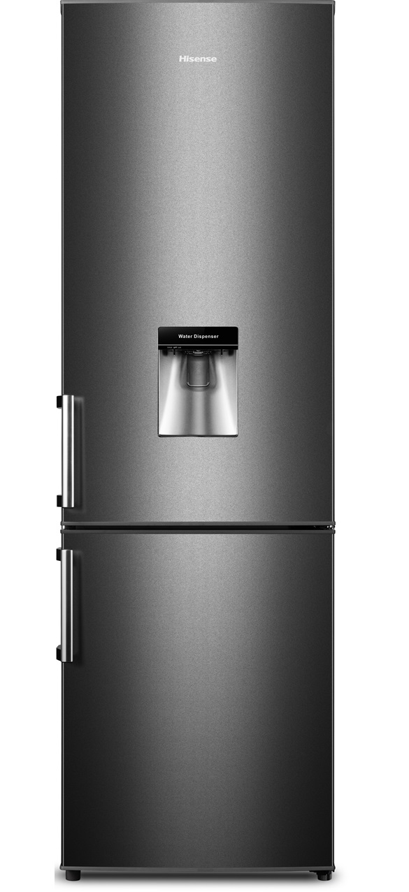 Fridgemaster MC55264DB 70/30 Black Fridge Freezer