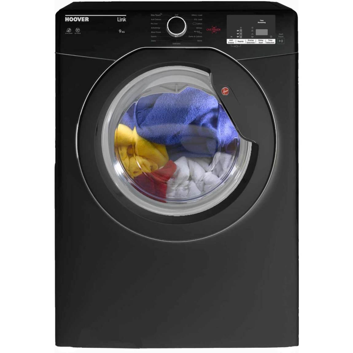 Black Hoover Tumble Dryer