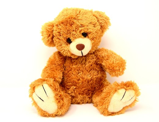 large brown soft teddy bear
