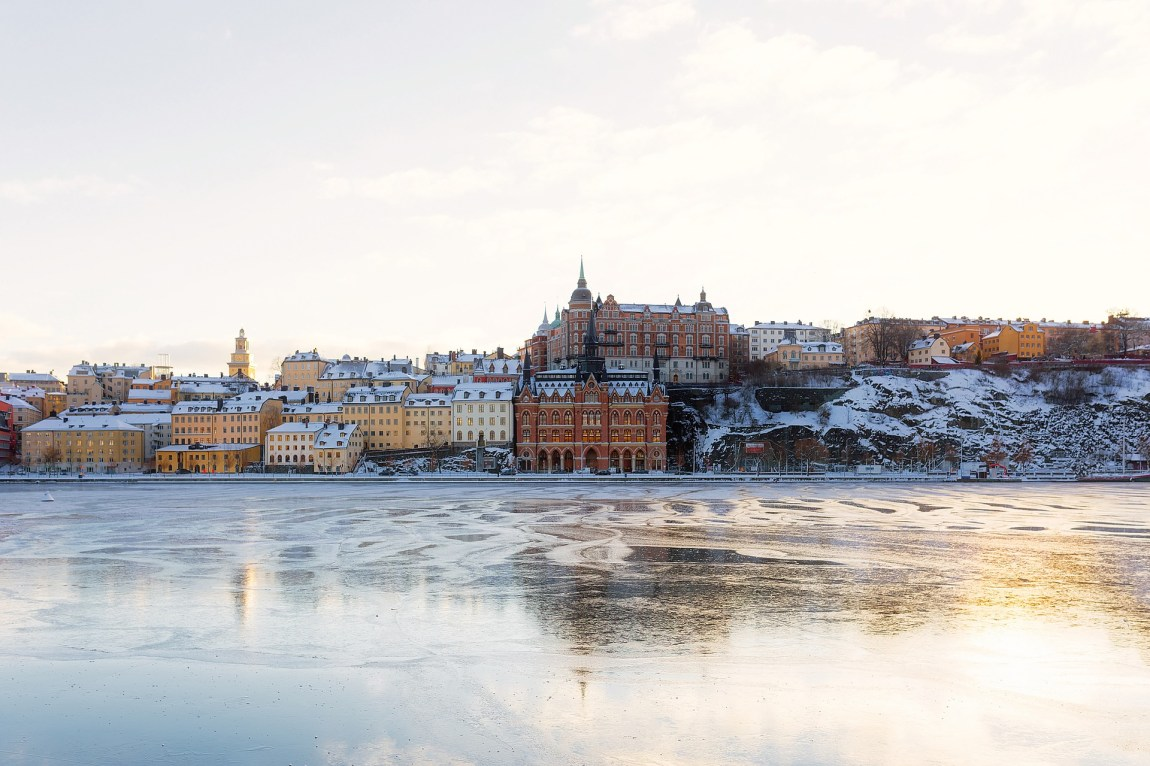 A cold and icy Stockholm