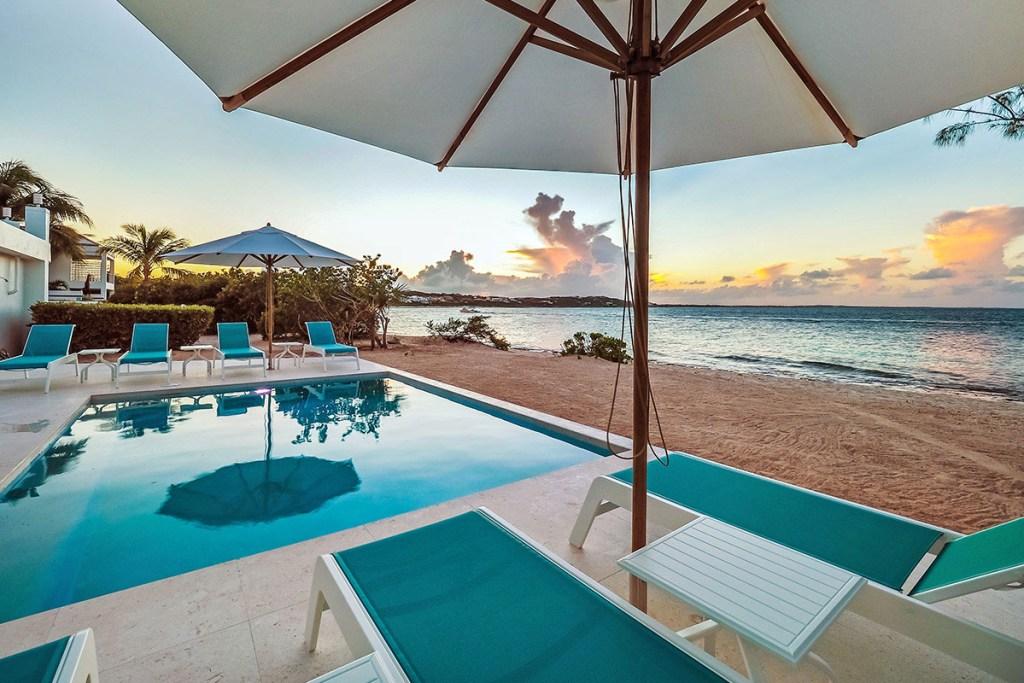 luxury villa in Turks and Caicos