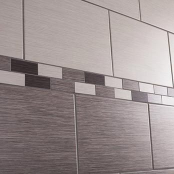 Five Stylish Border Tile Ideas For Your Bathroom My Three And Me