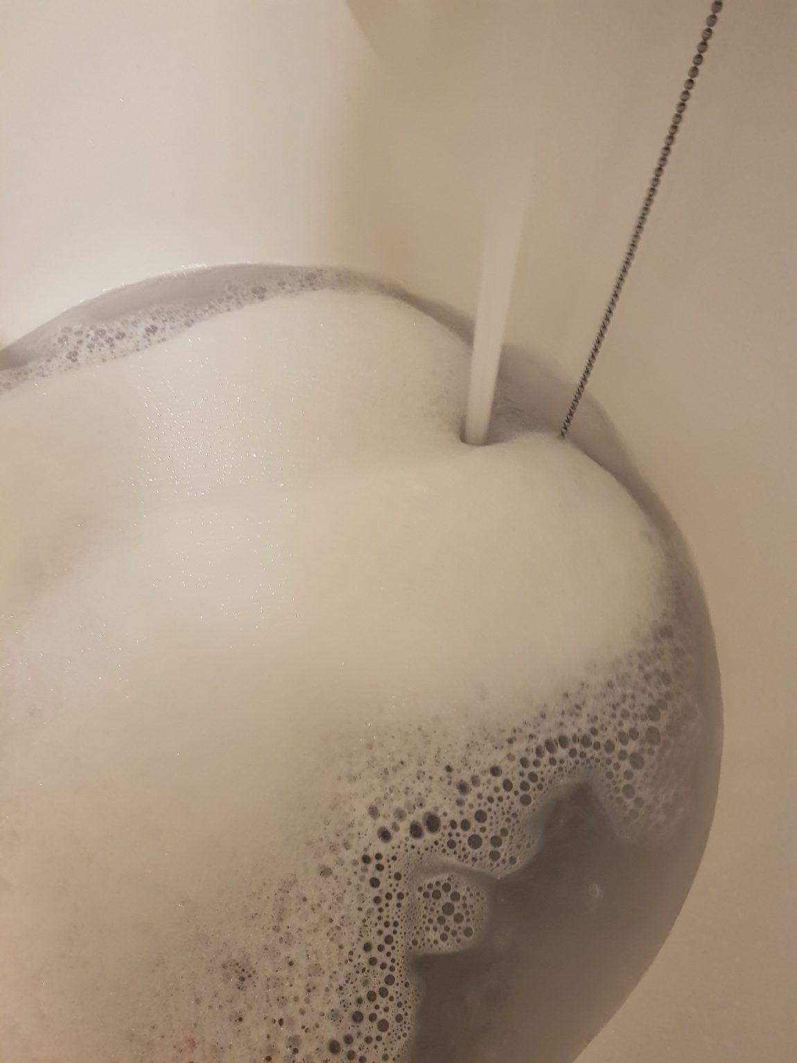 running bath water