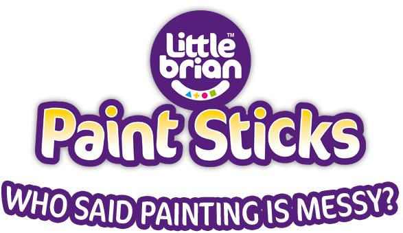 Little Brian Paint Sticks Logo