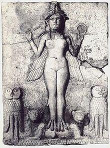 Burney Relief. Circa 1950 BCE. public domain.