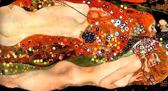 Gustave Klimt. Public domain. Wikimedia.