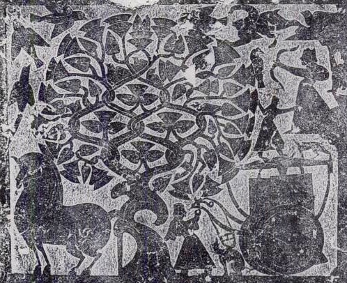 Xi-He sun goddess, crows, and mulberry tree