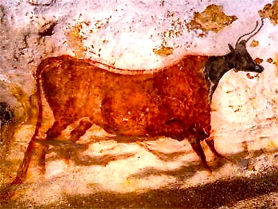 red cow_lascaux