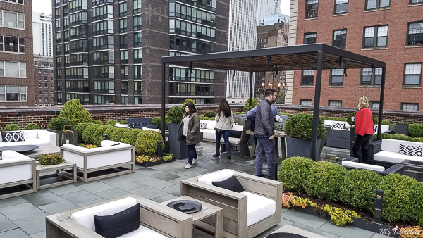A hidden gem in Chicago, Restoration Hardware is a must checkout for it's amazing rooftop views