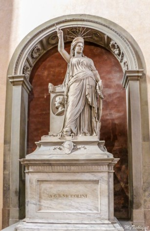 Where to find the inspiration of Statue of Liberty in Florence, Italy
