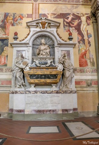 Galileo's tomb in Florence