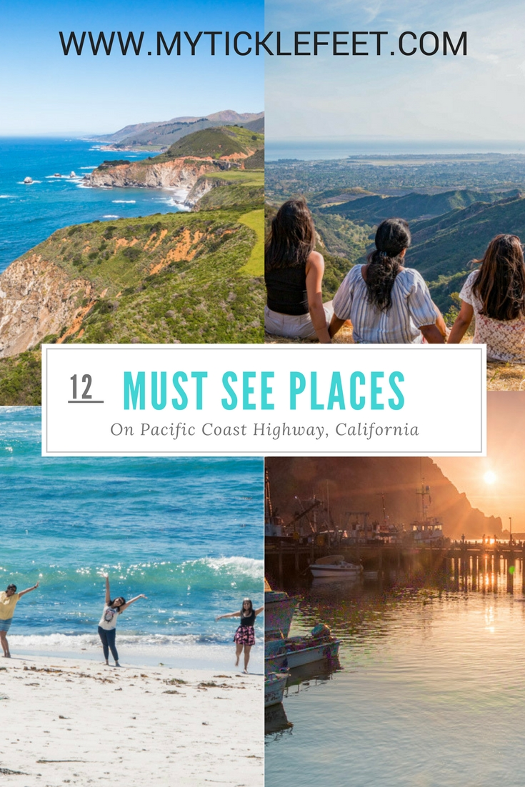 Map Of California Vacation Spots.Ultimate Sf To La Road Trip Best Stops Along California S Pacific