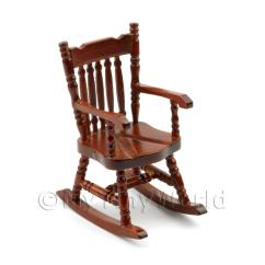 Mini Rocking Chair Barstool Covers Dolls House Miniature Furniture Value