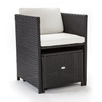 Charcoal 11 Piece Wicker | Shop Outdoor Dining Sets | Mytopia