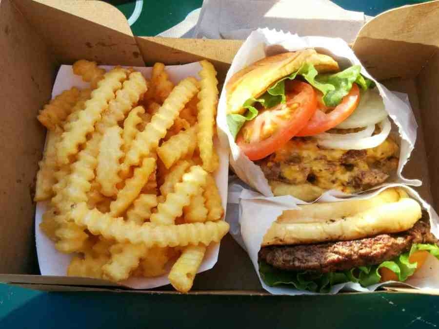 Shake Shack is a Must Eat in New York