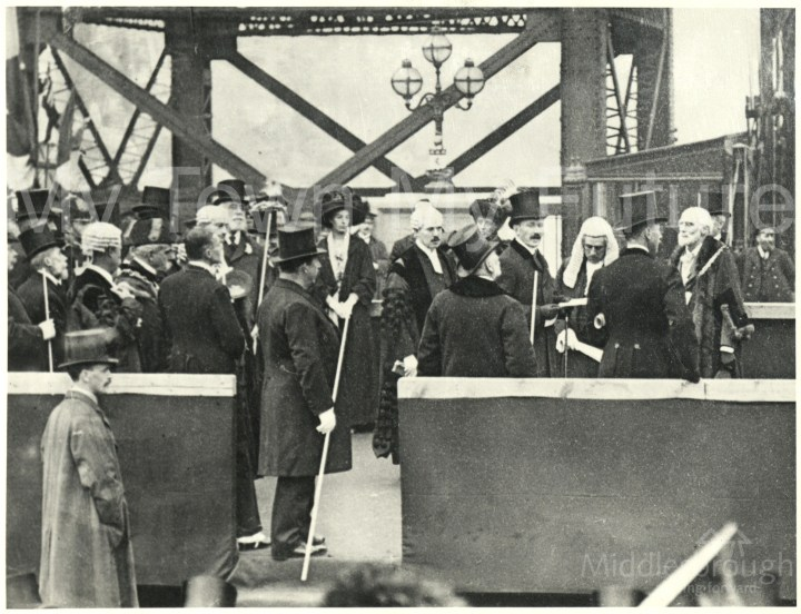 Transporter Bridge opening ceremony (1911)
