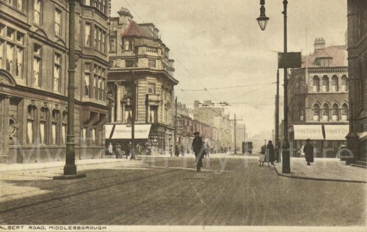 Albert Road Postcard early 1900s