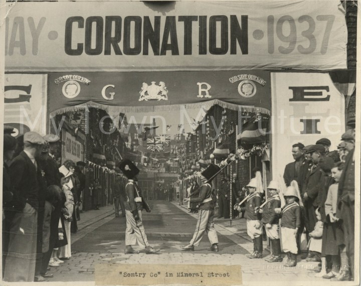 King George VI Coronation Mineral Street 1937