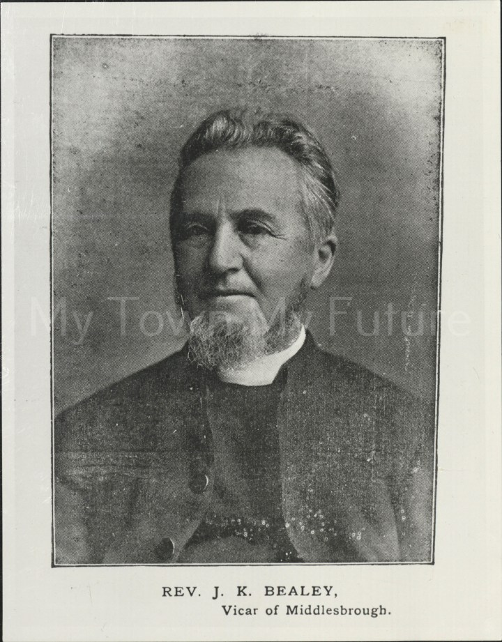 Rev JK Bealey, Vicar of Middlesbrough