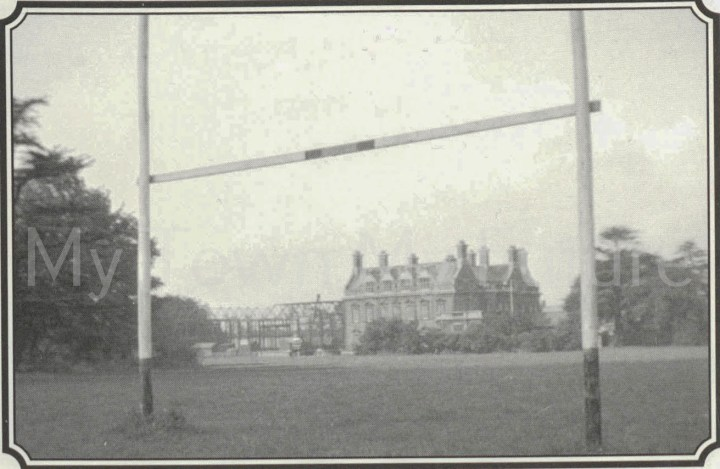 Acklam Hall from Hallgarth School rugby pit.