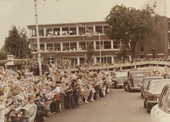 Queen Elizabeth Silver Jubilee visit to Cleveland 1977