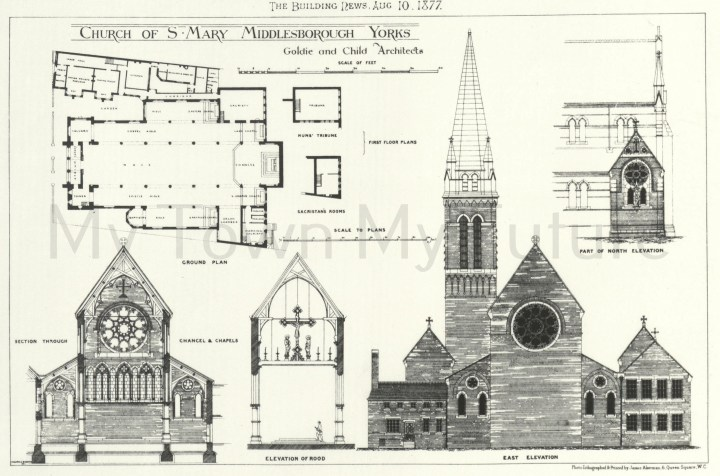 St Mary's RC Cathedral, 1877