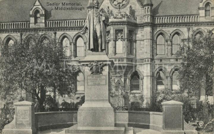 Victoria Square Sir Samuel Sadler Statue, 1913