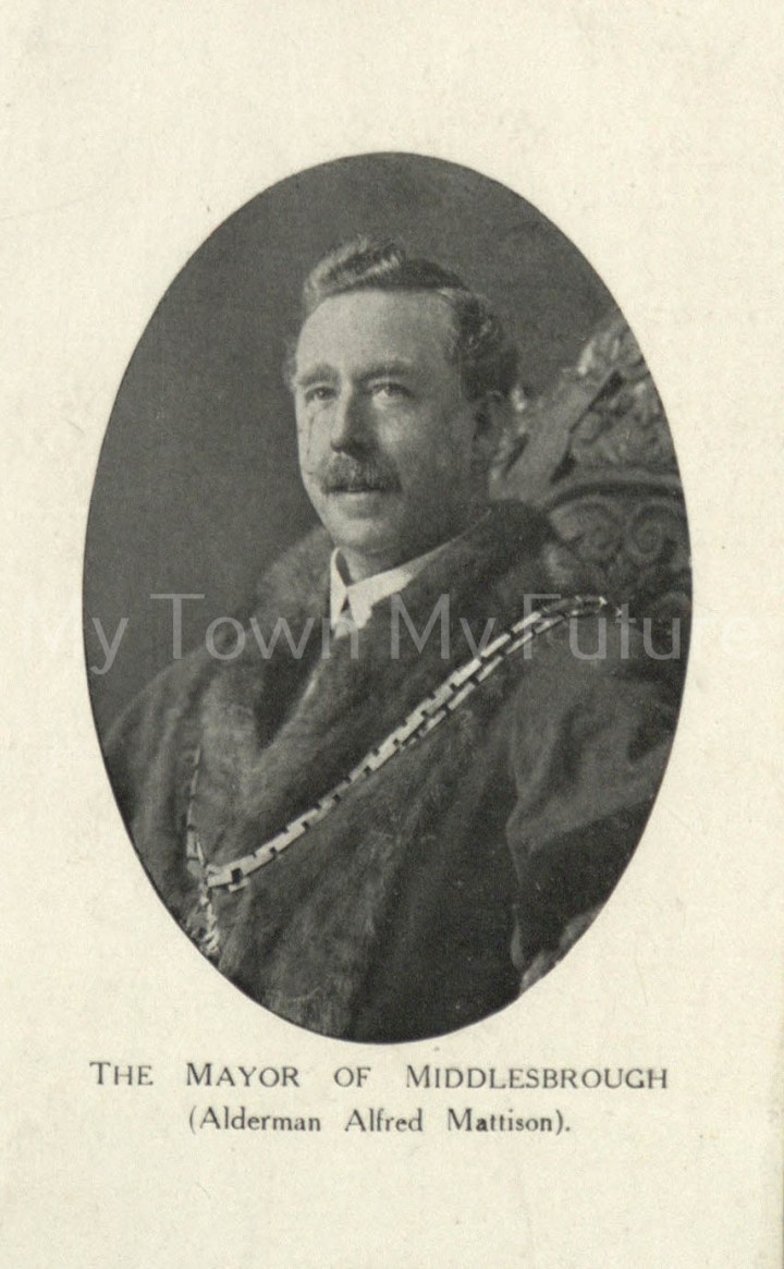 Alderman Alfred Mattison, Mayor of Middlesbrough