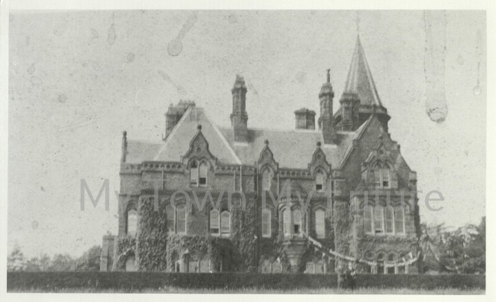 South facing view of Grey Towers (22 June 1932).