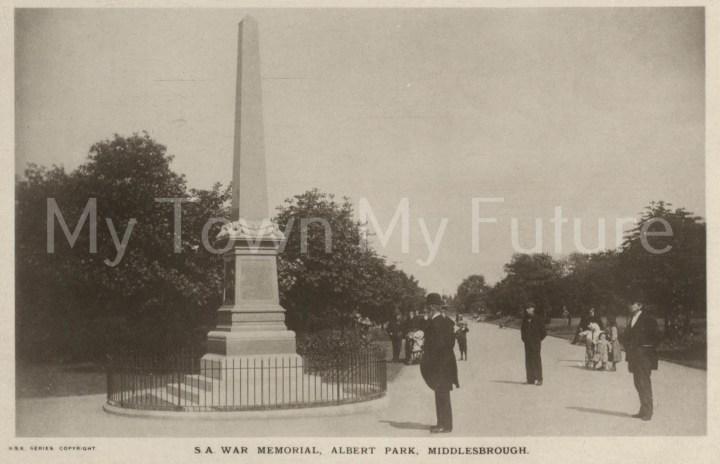 War Memorial Boer War - RSK Series
