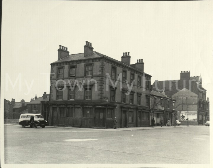 The Talbot Hotel 1844 South Street St Hilda's 26th June 1968