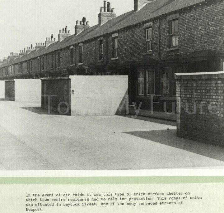 World War II,Brick Surface Shelters,Laycock Street