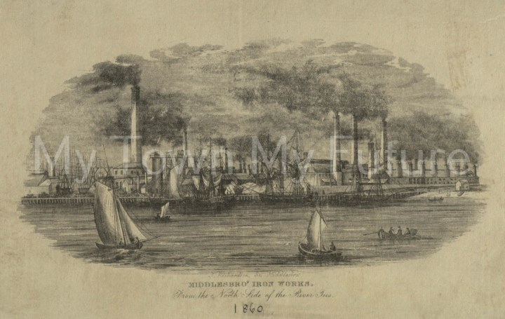 Middlesbrough Iron Works (1860).
