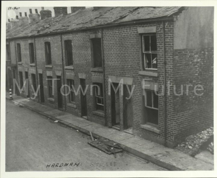 Hardman Street Damaged bombed houses After Air Raid 13th October 1940