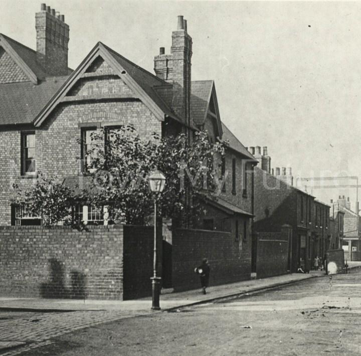 St Peter's Church Vicarage Gray Street 1900